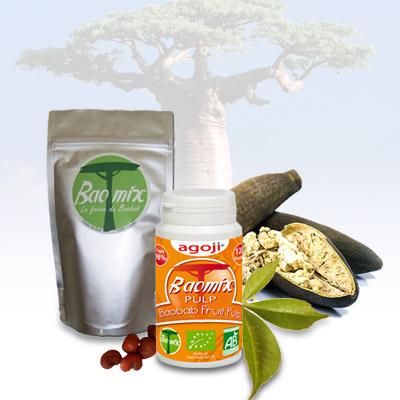 Pulpe de Baobab Baomix Bio agoji