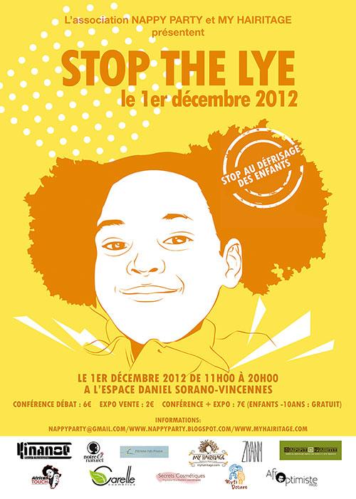 Stop the Lye - 1er décembre 2012 - Journée coiffure enfant